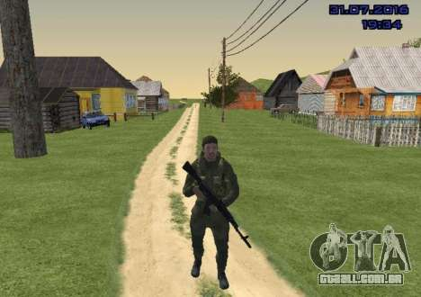 Lutador do Slide para GTA San Andreas segunda tela