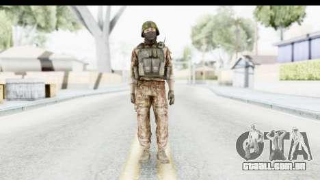 Global Warfare Turkey para GTA San Andreas segunda tela