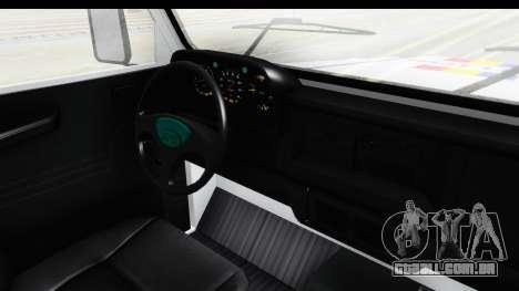 Aro 243 1996 Police para GTA San Andreas vista interior