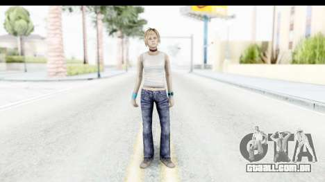 Silent Hill 3 - Heather Sporty White Base para GTA San Andreas segunda tela