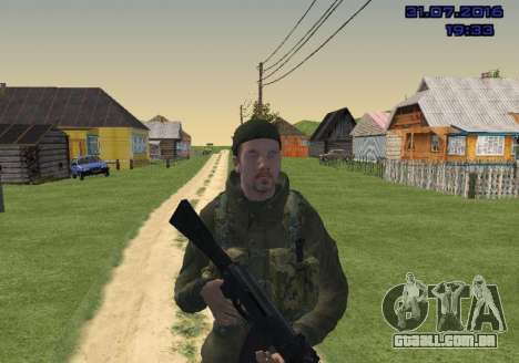 Lutador do Slide para GTA San Andreas