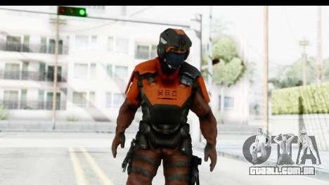 Homefront The Revolution - KPA v4 Red para GTA San Andreas