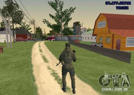 Lutador do Slide para GTA San Andreas terceira tela