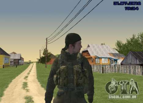 Lutador do Slide para GTA San Andreas quinto tela