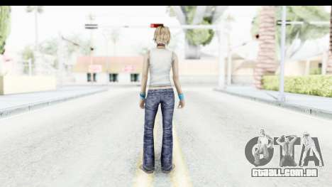 Silent Hill 3 - Heather Sporty White Base para GTA San Andreas terceira tela