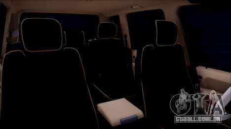 Land Rover Range Rover III (Pontorezka) para GTA San Andreas vista traseira