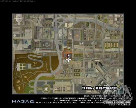A Nova Estação para GTA San Andreas oitavo tela