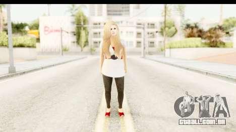 Adele para GTA San Andreas segunda tela