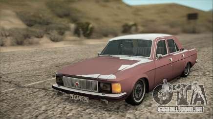 GAZ 3102 início para GTA San Andreas