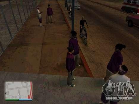 White CJ v3 Improved para GTA San Andreas segunda tela