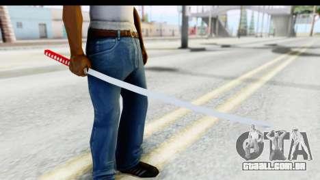 Katana from GTA Advance para GTA San Andreas
