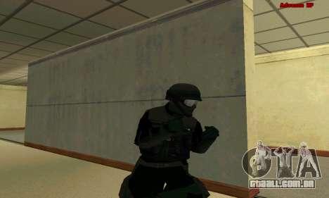 Pele FIB SWAT de GTA 5 para GTA San Andreas nono tela