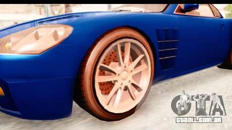 GTA EFLC TBoGT F620 v2 para GTA San Andreas vista traseira