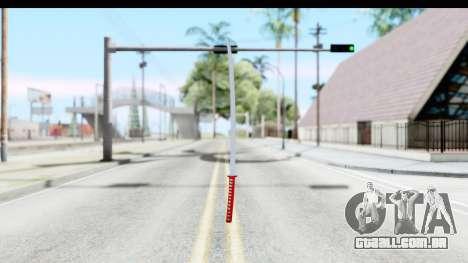 Katana from GTA Advance para GTA San Andreas segunda tela