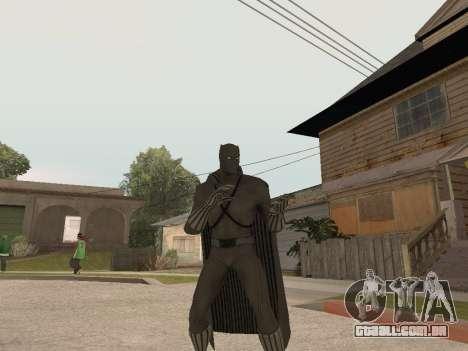 Marvel: Ultimate Alliance 2 - Black Phanter para GTA San Andreas terceira tela