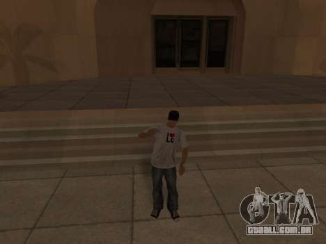 White CJ v3 Improved para GTA San Andreas nono tela