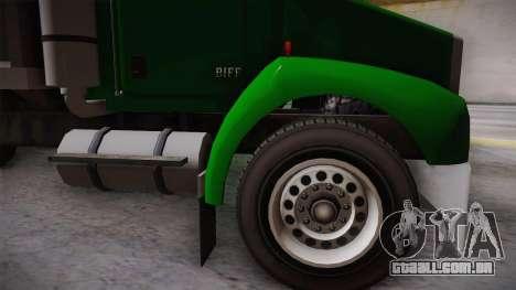 GTA 4 HVY Biff para GTA San Andreas traseira esquerda vista