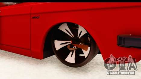 Peykan Pickup Full Sport Iranian para GTA San Andreas vista traseira
