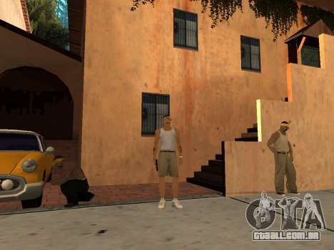 White CJ v3 Improved para GTA San Andreas