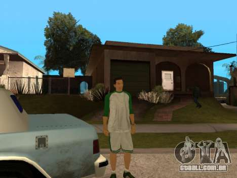 White CJ v3 Improved para GTA San Andreas oitavo tela