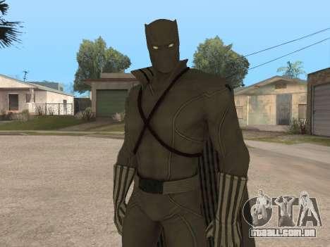 Marvel: Ultimate Alliance 2 - Black Phanter para GTA San Andreas segunda tela