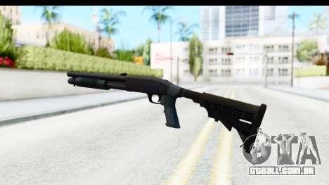 Tactical Mossberg 590A1 Black v4 para GTA San Andreas terceira tela
