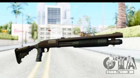 Tactical Mossberg 590A1 Black v4 para GTA San Andreas segunda tela
