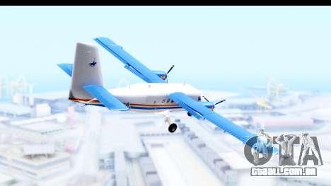 DHC-6-400 RCMPGRC para GTA San Andreas esquerda vista