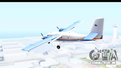 DHC-6-400 RCMPGRC para GTA San Andreas vista direita