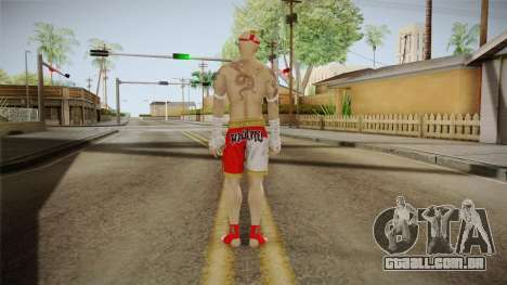 Sleeping Dogs - Wei Shen Muay Thai DLC Bald para GTA San Andreas terceira tela