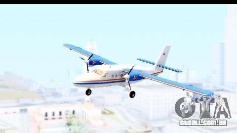 DHC-6-400 RCMPGRC para GTA San Andreas traseira esquerda vista