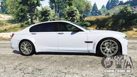 GTA 5 BMW 760Li (F02) Lumma CLR 750 [replace] vista lateral esquerda