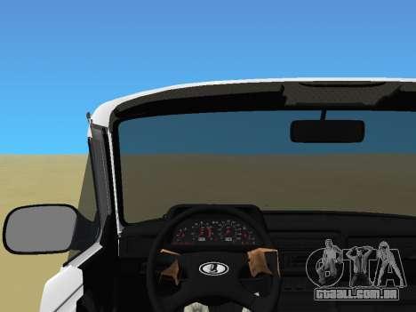 Lada Urban para GTA Vice City vista traseira esquerda