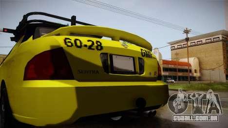 Nissan Sentra Taxi para GTA San Andreas