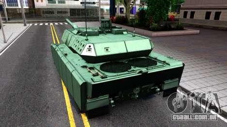 Leopard 2A7 para GTA San Andreas vista direita