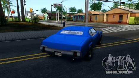 VC Xbox Sabre para GTA San Andreas vista direita