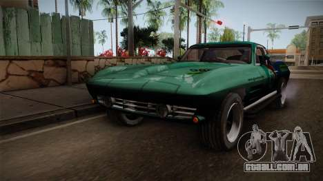 Chevrolet Corvette Coupe 1964 para GTA San Andreas
