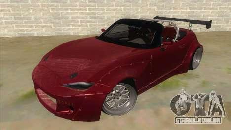 Mazda MX-5 2016 para GTA San Andreas