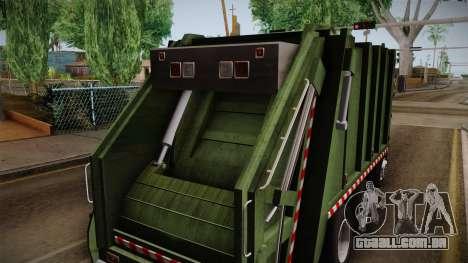 Ford Cargo Trashmaster 1992 para GTA San Andreas