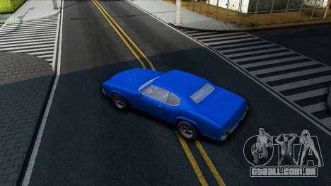 VC Xbox Sabre para GTA San Andreas vista interior