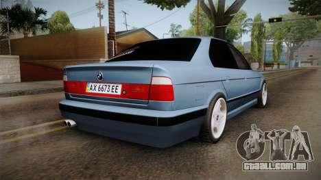 BMW Série 5 E34 ЕК para GTA San Andreas