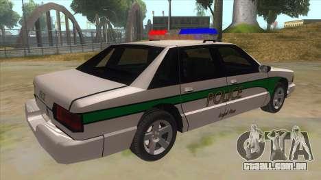 1992 Declasse Premier Angel Pine PD para GTA San Andreas vista direita