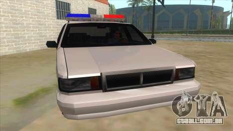 1992 Declasse Premier Angel Pine PD para GTA San Andreas vista traseira