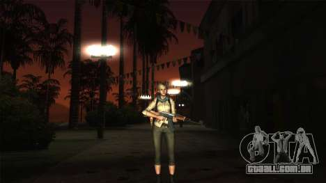 Resident Evil 6 - Shery Asia Outfit para GTA San Andreas terceira tela
