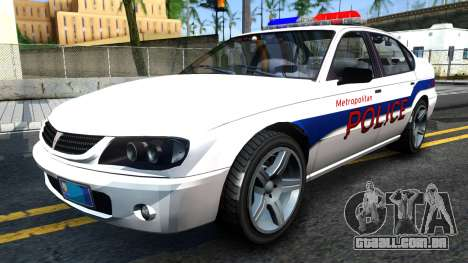 Declasse Merit Metropolitan Police 2005 para GTA San Andreas