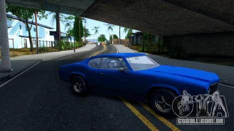 VC Xbox Sabre para GTA San Andreas esquerda vista