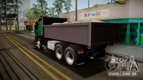 Volvo FMX descarga de Caminhão para GTA San Andreas