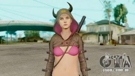 Resident Evil Revelations 2 - Moira Burton Ninja para GTA San Andreas