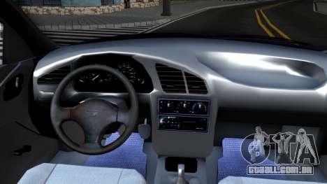 Daewoo Lanos para GTA San Andreas vista interior