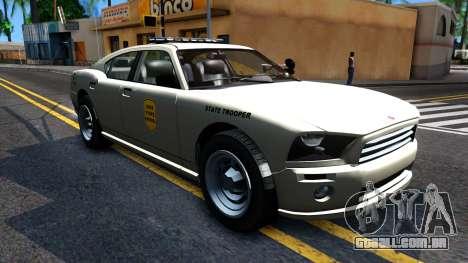 Bravado Buffalo 2008 Iowa State Patrol para GTA San Andreas